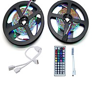 Strip Light Set  10M LED Light Bar 3528 RGB 600LED 44 Key Remote Control RGB One Out Two