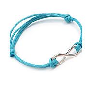 cheap -Women's Leather Wrap Bracelet - Classic DIY Dark Blue Purple Red Blue Pink Bracelet For Daily Street