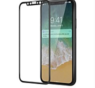 cheap -Screen Protector Apple for iPhone X Tempered Glass 1 pc Front Screen Protector 3D Curved edge 9H Hardness High Definition (HD)