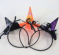 1 Pc Mini Witch Cap Headband Headwear Dress Up Show Props Stage Performance Halloween Carnival Party Bar Decoration Hat Toys