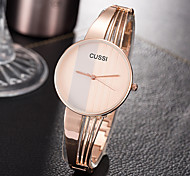 Women's Unique Creative Watch Casual Watch Fashion Watch Wrist watch Quartz Alloy Band Charm Luxury Creative Casual Elegant Cool Silver