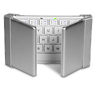 Bluetooth oficina teclado Plegable por Windows 2000/XP/Vista/7/Mac OS Android OS iOS iPad 1 iPad 2 iPad 3 iPad 4 iPad mini iPad mini 2