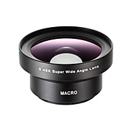 ZOSHI Mobile Phone Lens 12.5X Macro Lens 0.45X Wide-Angle Lens Aluminium Alloy Glass 52MM For Android Cellphone iPhone