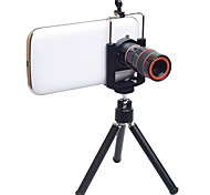 FANYABI Mobile Phone Lens 8X Long Focal Lens Lens With Stand Aluminium Alloy Glass For Android Cellphone iPhone