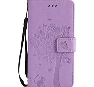 cheap -Case For iTouch 5/6 Wallet Card Holder with Stand Flip Embossed Pattern Magnetic Full Body Cases PU Leather Hard