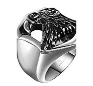 Муж. Кольцо на кончик пальца Бижутерия Панк По заказу покупателя Нержавеющая сталь Сплав Геометрической формы Eagle Бижутерия Назначение