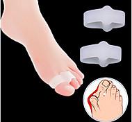 Недорогие -Ступни массажер Toe Сепараторы и мозолей Pad Массаж Коррекция осанки Защитный ортопедических Облегчает боль Массаж