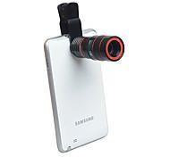 Объектив для мобильного телефона Длиннофокусный объектив Алюминиевый сплав 8X 21
