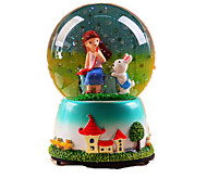 Balls Music Box Light Up Toys Toys Round Cartoon Toughened Glass 1 Pieces Not Specified Birthday Valentine's Day Gift