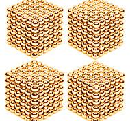Недорогие -Магнитные игрушки Сильные магниты из редкоземельных металлов Магнитные шарики Устройства для снятия стресса 4 Куски 3mm Игрушки Стресс и