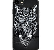 cheap -Case For Apple iPhone 7 Plus iPhone 7 Ultra-thin Pattern Back Cover Owl Soft TPU for iPhone 7 Plus iPhone 7 iPhone 6s Plus iPhone 6s