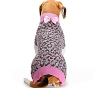 Cat Dog Coat Sweater Dog Clothes Party Casual/Daily Cosplay Keep Warm Wedding Halloween Christmas New Year's Animal Blushing Pink