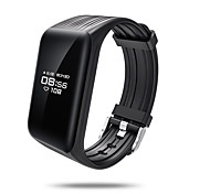cheap -Smart Bracelet IPS-SR10 for iOS / Android Touch Screen / Heart Rate Monitor / Water Resistant / Water Proof Pedometer / Remote Control /