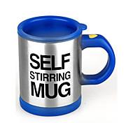Недорогие -Стаканы, 400 Нержавеющая сталь + категория А (ABS) Чайный Кофе Вакуумный Кубок Кружка Водный горшок и чайник