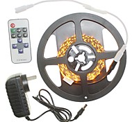 5M 300x2835LED Strip Light Sets No Waterproof 11 key controller AC100-240V AU / EU / US / UK Power Plug  DC12V 2A