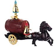 Caixa de música Decoração Carros de brinquedo Brinquedos Carruagem Cavalo Peças Unisexo Dom