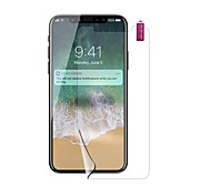 cheap -Screen Protector Apple for iPhone X PET 1 pc Front Screen Protector Explosion Proof High Definition (HD)