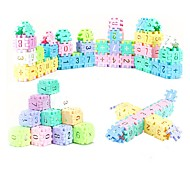 DIY KIT Educational Flash Cards For Gift  Building Blocks Rectangular ABS 6 Years Old and Above 3-6 years old Toys