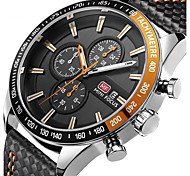 Men's Kid's Sport Watch Fashion Watch Casual Watch Chinese Quartz Calendar Chronograph Water Resistant / Water Proof Leather Genuine