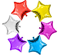 6Pcs/Lot 5Inch Star Balloon Multicolour 5 Small Cute Star Foil Ballon