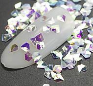 Недорогие -1 Блеск Аксессуары Блестящие Украшения для ногтей Комплектующие Аксессуары Компоненты для самостоятельного изготовления Вспышка 3-D