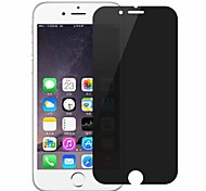 Vidrio Templado Protector de pantalla para Apple iPhone 8 Plus Protector de Pantalla Frontal Anti-Huellas Privacidad Antiespionaje Borde