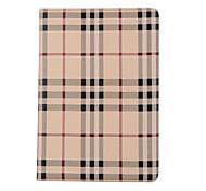 Недорогие -Назначение Чехлы панели Бумажник для карт со стендом Чехол Кейс для Полосы / волосы Твердый Искусственная кожа для Apple IPad pro 10.5