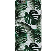 abordables -Funda Para Apple iPhone X iPhone 8 Diseños Cubierta Trasera Árbol Suave TPU para iPhone X iPhone 8 Plus iPhone 8 iPhone 7 Plus iPhone 7