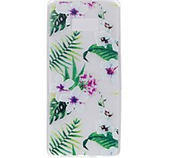 Case for Samsung Note 8 Cover Glow in the Dark Back Cover Case Flower Soft TPU