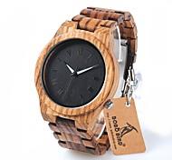 Herrn Modeuhr Armbanduhr Armbanduhren für den Alltag Chinesisch Quartz Chronograph Wasserdicht Holz Band Charme Luxus Freizeit Elegant