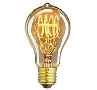 cheap -1pc 60W E26 / E27 A60(A19) Warm White 2300k Retro Dimmable Decorative Incandescent Vintage Edison Light Bulb 220-240V