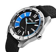 Недорогие -9151 skmei wathces мужчины роскошный бренд 2017 мода спортивный стиль верхний кварцевый вахта водостойкий силиконовый ремешок часы