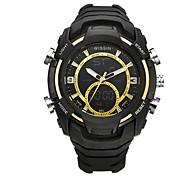 Men's Sport Watch Wrist watch Casual Watch Digital Watch Swiss Digital Chronograph LED Dual Time Zones Stopwatch Silicone Rubber Band