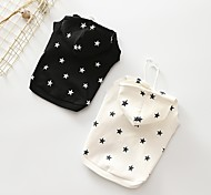 Dog Hoodie Dog Clothes Casual/Daily Stars Black White