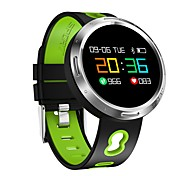 0.95 Inch Color Touch Screen Men's Woman Smart Bracelet Water Proof Long Standby Calories Burned Pedometers Heart Rate Monitor for Ios Android Mobile