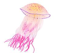 Недорогие -Оформление аквариума Медуза Светящийся Силикон