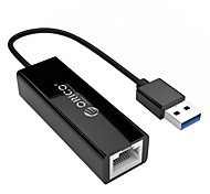 ORICO USB 3.0 Gigabit Ethernet Adapter USB to RJ45 10M/100/1000M Lan Network Card for Windows/Mac