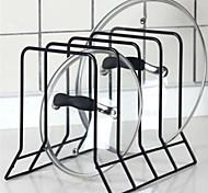 Недорогие -1шт Держатели крышки для ванны Металл Прост в применении Кухонная организация