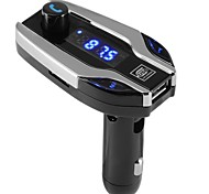 Bluetooth Car X7 Kit Handsfree FM Transmitter Radio MP3 Player USB Charger SD TF MMC LCD Remote