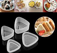 Недорогие -Инструменты для выпечки Треугольник Повседневное использование Для Sandwich Для Райс Для приготовления пищи Посуда Cupcake Хлеб ПП