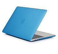 """Недорогие -MacBook Кейс для Матовое Сплошной цвет Поликарбонат Новый MacBook Pro 15"""" Новый MacBook Pro 13"""" MacBook Pro, 15 дюймов MacBook Air, 13"""