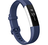 fitbit Alta HR Band Replacement Wristband Strap with Secure Metal Buckle for Fitbit Alta HR-deep blue
