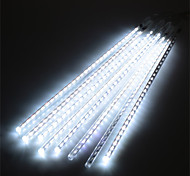 1set HKV® 30CM 8Strip Outdoor Meteor Shower Rain Tube LED Light Wedding Party Garden String Light