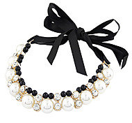 Gothic Lolita Necklace Vintage Inspired Black Lolita Accessories Necklace Solid For Metal