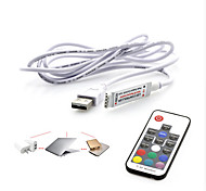 Недорогие -usb rf mini led controller 17keys usb light with light colorful remote control 5v
