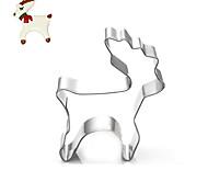 baratos -Ferramentas de Cookie Natal Ternos de Papai Noel Veado Animal Desenhos Animados 3D para Sandwich para Candy para biscoito Biscoito Pão