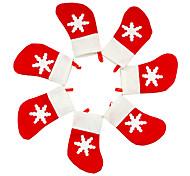 Desktop Organizers Holiday Classic Theme Birthday Non-woven Christmas Decoration