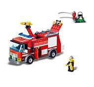 Недорогие -Конструкторы Пожарная машина Игрушки Транспорт Мальчики 206 Куски