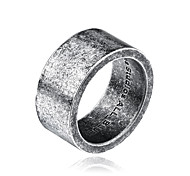 cheap -Men's Band Ring Silver Titanium Steel Others Circle Personalized Fashion Daily Casual Costume Jewelry