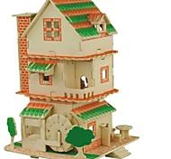 Набор для творчества 3D пазлы Пазлы Пазлы и логические игры Игрушки Замок Китайская архитектура Животные 3D Домики Мода Для детской